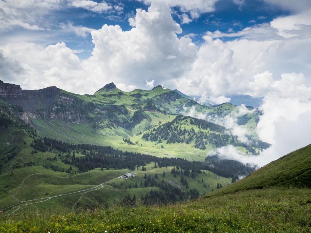 Pohled z Kanisfluhu.